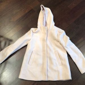Zara Winter Jacket in pale pink